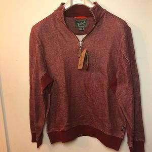 Woolrich  Men's red pullover